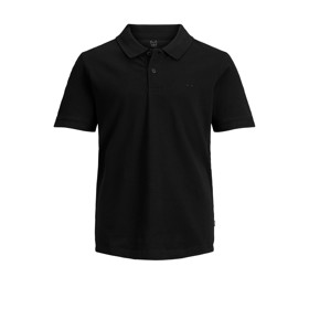 Plain polo sort - Jack & Jones junior