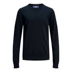 Basic strik crew neck  Navy Blazer - Jack & Jones jr