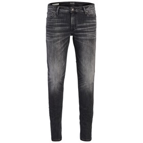 Skinny fit jeans Liam AM 830 Black denim - Jack & Jones jr