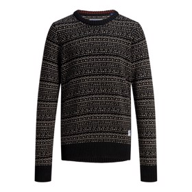 Strik crew neck caviar - Jack & Jones jr