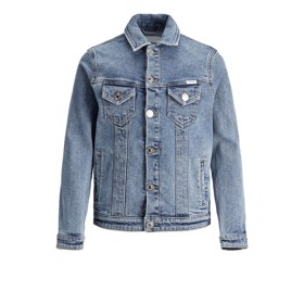 Denimsjakke AGI 017 Blue Denim - Jack & Jones Jr