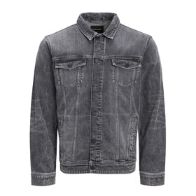 Denimsjakke AGI 014 Black Denim - Jack & Jones Jr