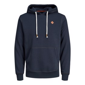 Jortons Sweat Hoodie, Navy Blazer - Jack & Jones Junior
