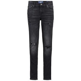 Skinny fit jeans Liam AM 832 black denim - Jack & Jones jr