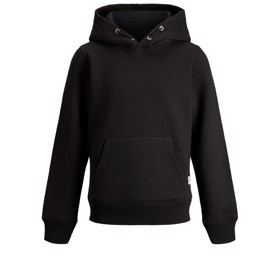 Sweatshirt med hætte, Black - Jack & Jones JR