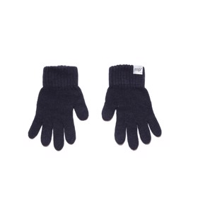 Strikvanter cashmere navy - MP