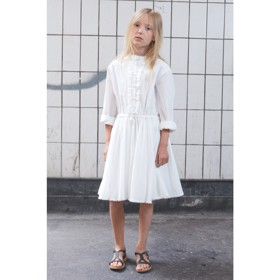 LR Derek shirt dress hvid - Little Remix