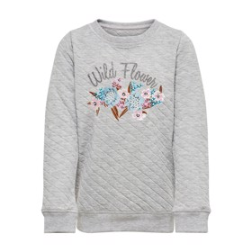 Sweatshirt Konjoyce grey melange  - Kids Only