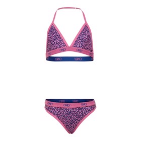 Laura Triangle bikini sæt Knockout pink - Kids Only