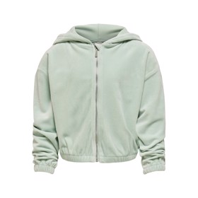 Laya Velvet Zip Hoody Surf Spray - Kids Only