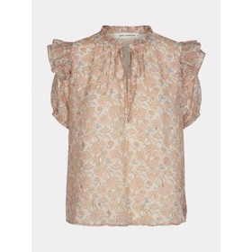 Top/skjorte Seraphina blomsterprint Light rose - Sofie Schnoor