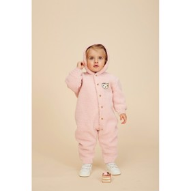 Brice Jumpsuit Teddy rose - Soft Gallery