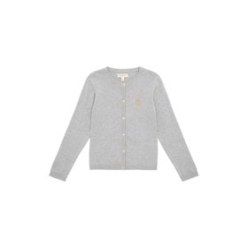 Mila Cardigan grey melange - Soft Gallery