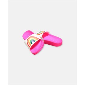 Sandaler/slides Rainbow pink - Stella McCartney