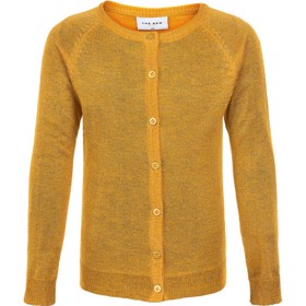Aya glitter cardigan Golden Rod - The New