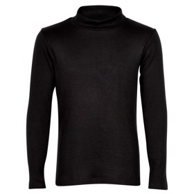 Bonnie Tee med turtleneck sort  - The New