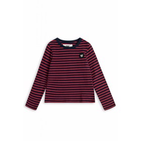 Kim kids long sleeve Navy/red - Wood Wood