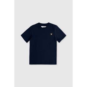 Ola kids T-shirt navy  - Wood Wood